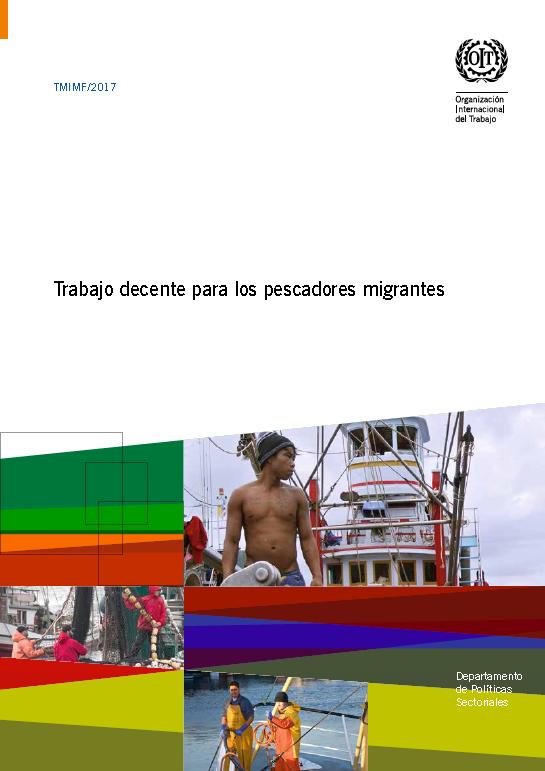 Trabajo decente para los pescadores migrantes