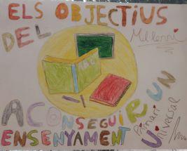 Despedimos el año 2017 y la realización de los talleres de Las niñas y los niños nos cuentan el mundo en el CEIP Rodríguez Fornos