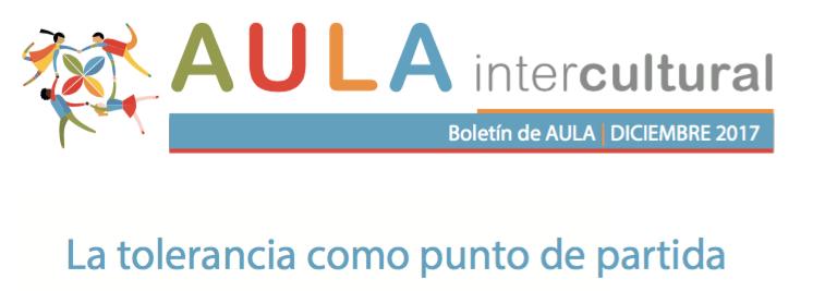 Boletín de Aula Intercultural - Diciembre 2017