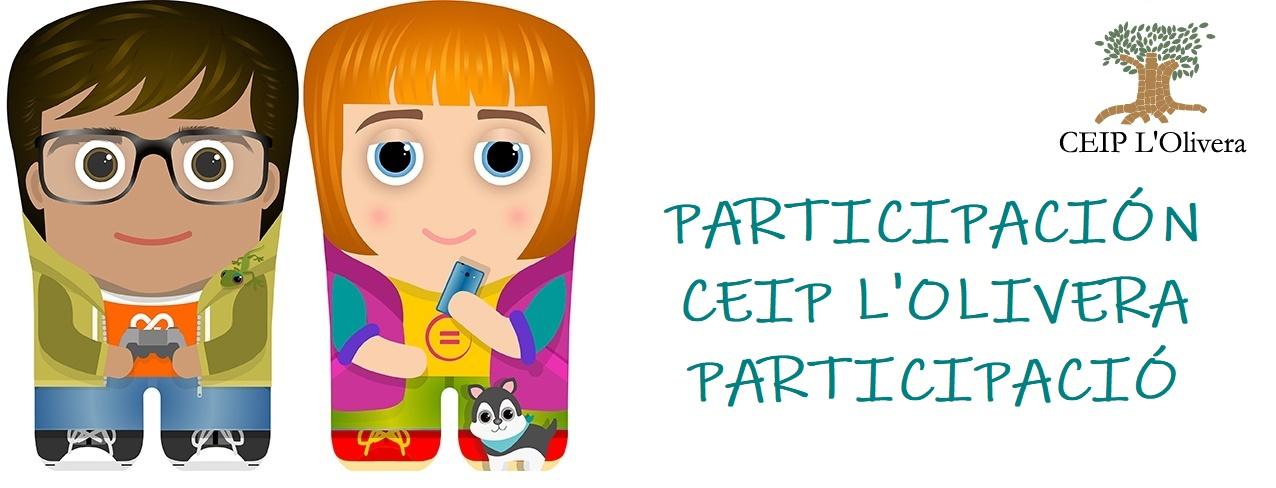 CEIP L'Olivera: Participando!