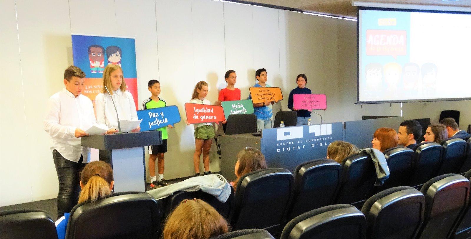Presentación de la Agenda de la Infancia de Elche