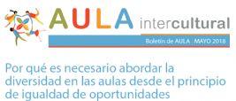 Boletín de Aula Intercultural mayo 2018 Especial Diversidad