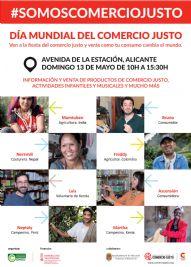 Alicante celebra el día mundial del Comercio Justo