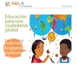 Entrevista en el Boletín de Aula Intercultural Octubre 2017