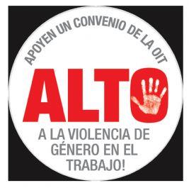 Apoyamos la campaña contra la violencia de género en el mundo del trabajo