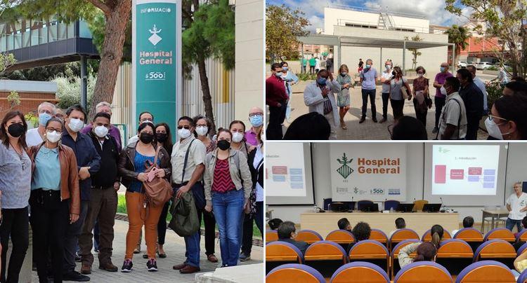 El Hospital General de Valencia abre sus puertas a la delegación hondureña