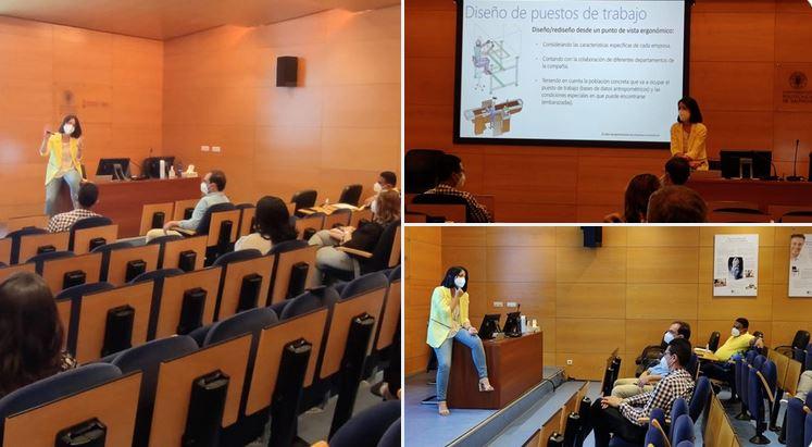 Visita al Instituto de Biomecánica de Valencia (IBV)