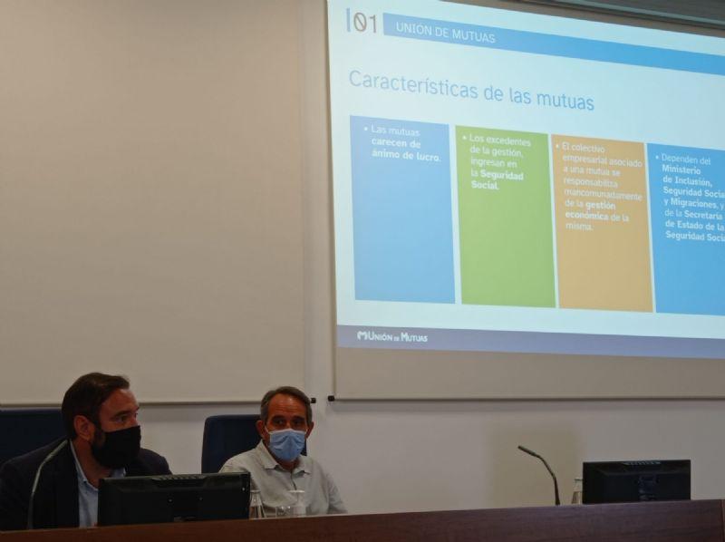 Intercambio de experiencias sobre salud y seguridad en el trabajo con Unión de Mutuas y Unimat Prevenció en Castelló