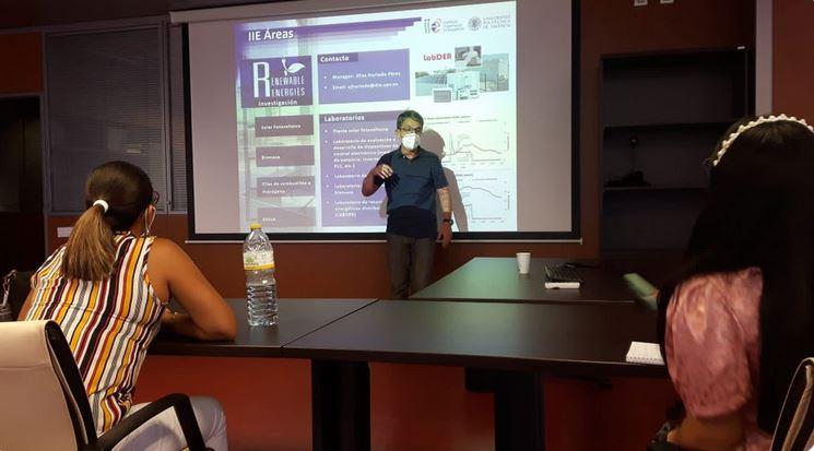 Encuentro con Instituto de Ingeniería Energética de la UPV