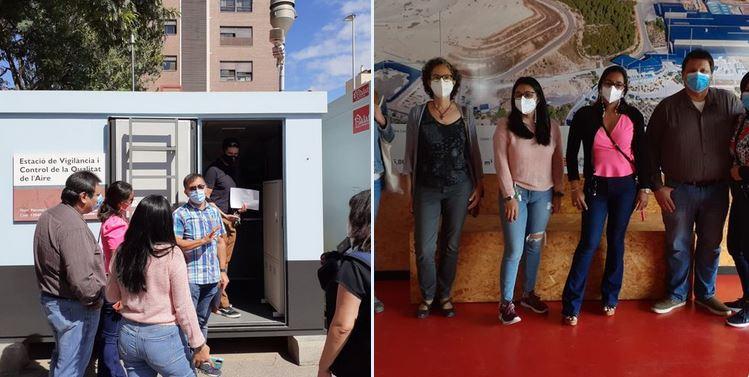 Visita a la planta de Gestión de residuos urbanos de Algimia de Alfara