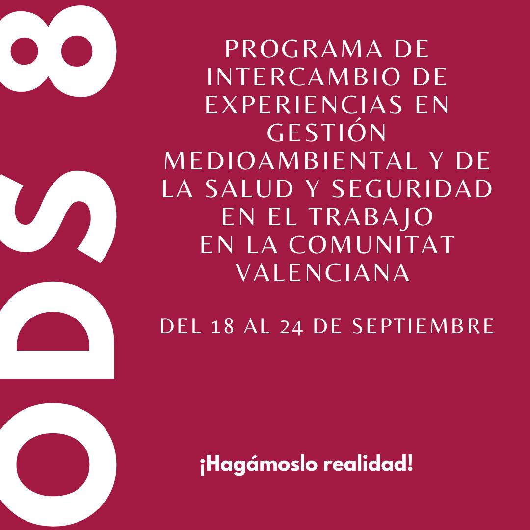 Seleccionadas las 10 personas que participarán en el viaje de estudios a la Comunitat Valenciana